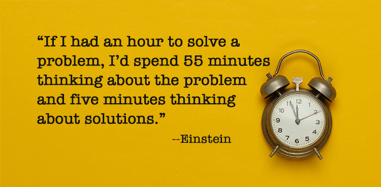 Have you spent enough time diagnosing the problem?